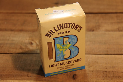 Billingtons Light Muscovado Cane Sugar 500g