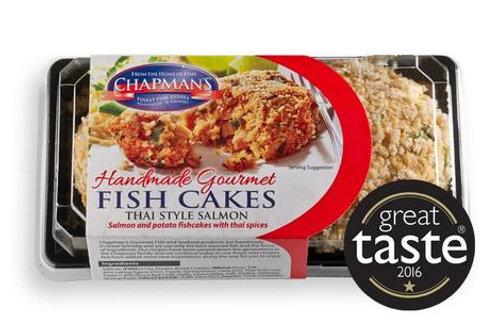 Chapman Salmon Thai style Fish Cakes