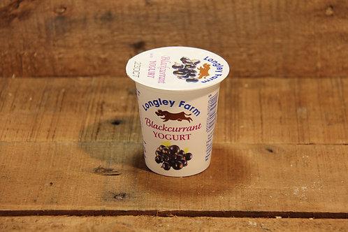 Langley Farm Blackcurrant Yoghurt 150