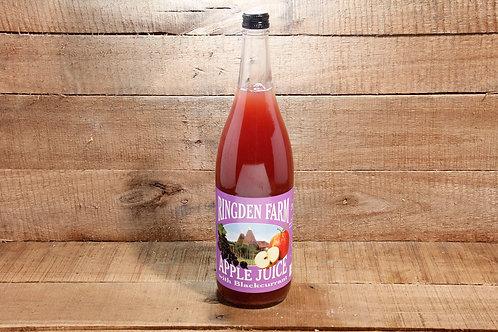 Ringden Farm Apple Juice  with Blackcurrant (1 Litre)