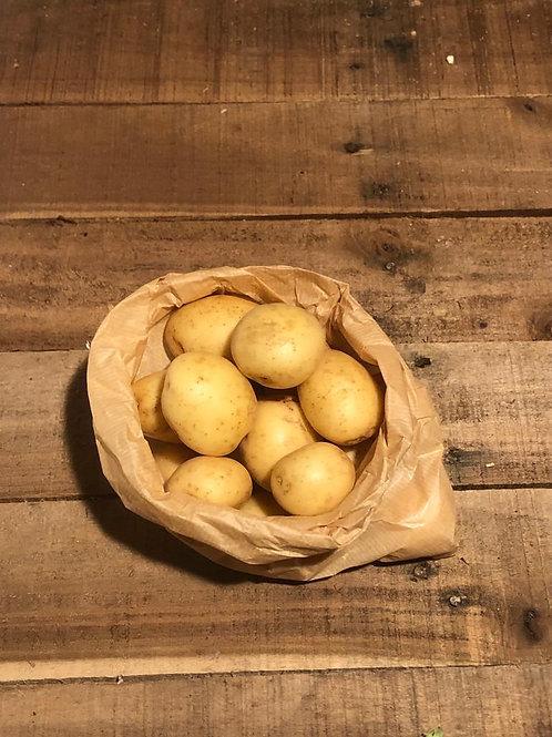 Salad potatoes unwashed  (1 kg bag)