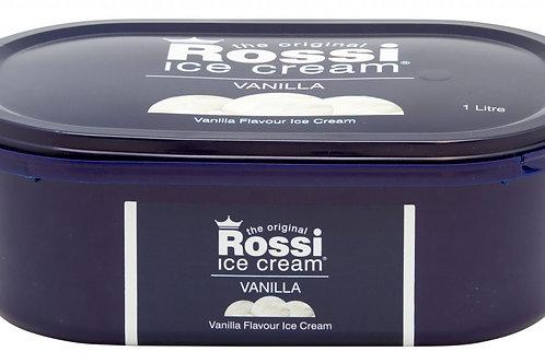 Rossi Ice Cream - Vanilla (1 Litre)
