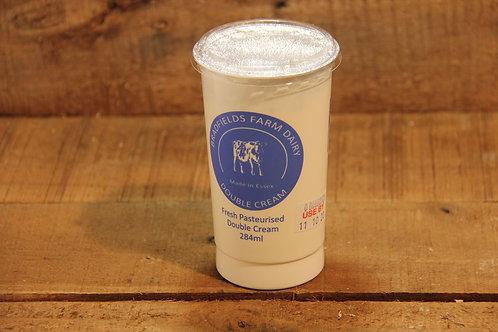 Bradfields Farm Dairy Double Cream  284ml