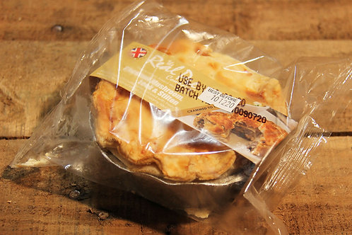 Real Pie Co. Chicken, Mushroom Leek & Stilton Pie (small)