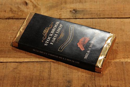 Stockbrook Farm Milk  Chocolate Bar 100g