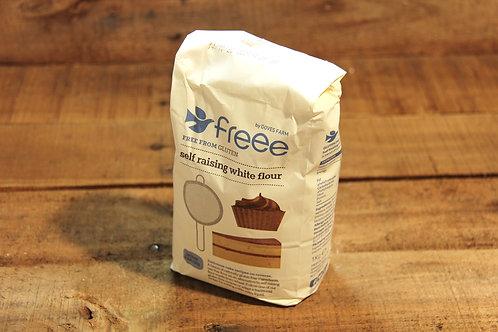 Freee Self Raising White Flour 1kg