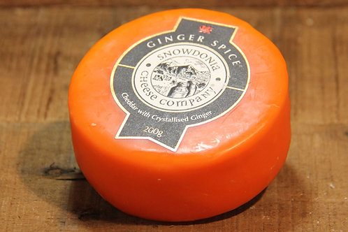 Snowdonia Cheese Co. Ginger Spice Cheddar 200g