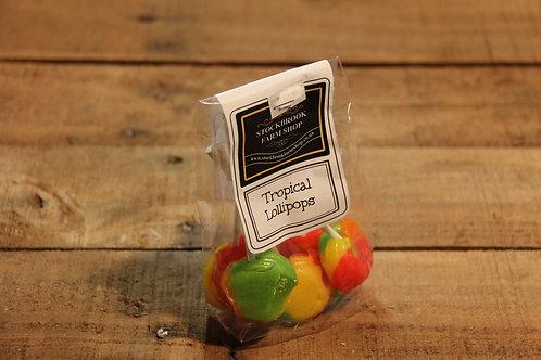 Stockbrook Farm Tropical Lollipops 95g