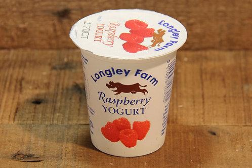Langley Farm Raspberry Yoghurt 150g