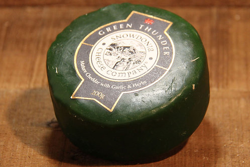 Snowdonia Cheese Co. Green Thunder Cheddar 200g