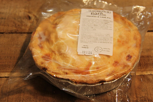 Real Pie Co. Chicken  & Leek Pie (large)