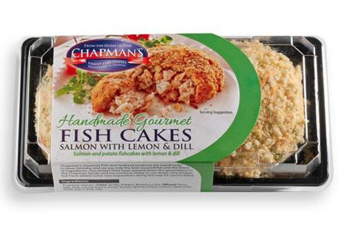 Chapman Salmon with Lemon & Dill Fish Cakes