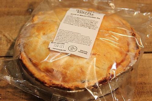 Real Pie Co.  Steak & Mature Cheddar Pie (large)