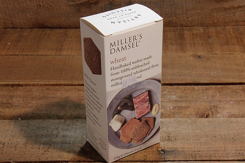 Millers Damsel hand baked Wheat Crackers 125g