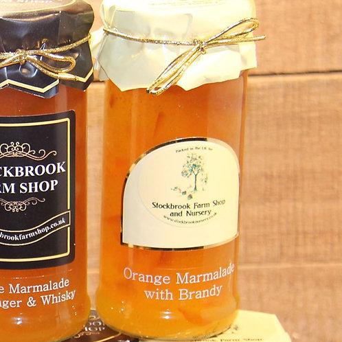 Stockbrook Farm Shop Orange with Brandy Marmalade 340g