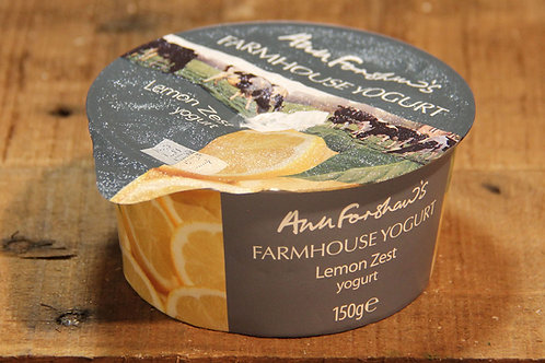 Anne Forshaws Lemon Zest Yoghurt 150g