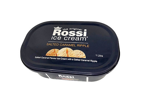Rossi Ice Cream - Salted Caramel (1 Litre)