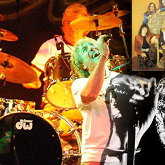 Garys previous bands-spot the difference between him and Roger Daltry!