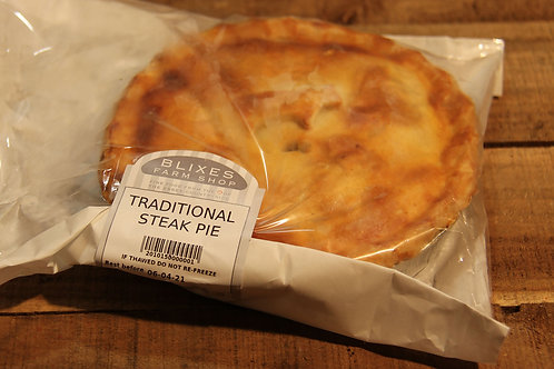 Blixes Traditional Steak Pie (large)