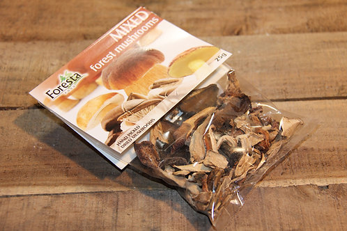 Foresta Mixed Forest Mushrooms 25g