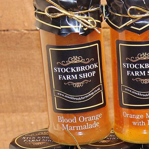 Stockbrook Farm Shop Blood Orange Marmalade 340g