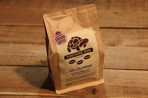 Tortoise Tom 100% Colombian Coffee 250g