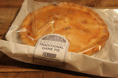 Blixes Traditional Game Pie (large)
