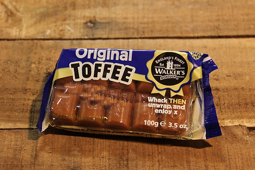 Walkers Original Toffee  100g