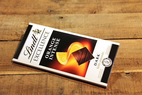 Lindt  Dark Orange Intense Chocolate Bar