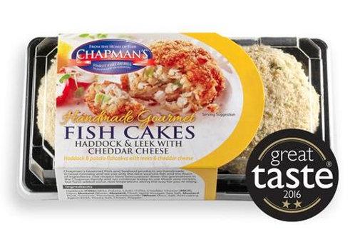 Smoked Haddock & Leek & Cheddar Fish Cakes