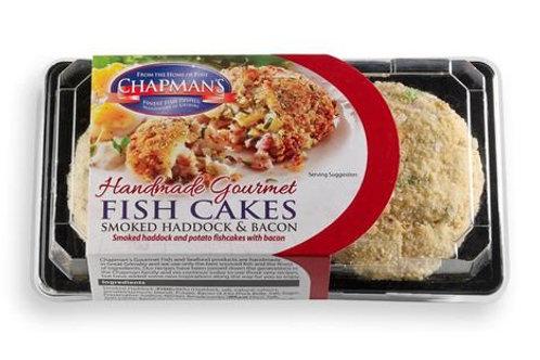 Chapman Smoked Haddock & Bacon Fish Cakes