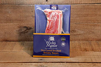 Wicks Manor Dry Cured Back Bacon 250kg