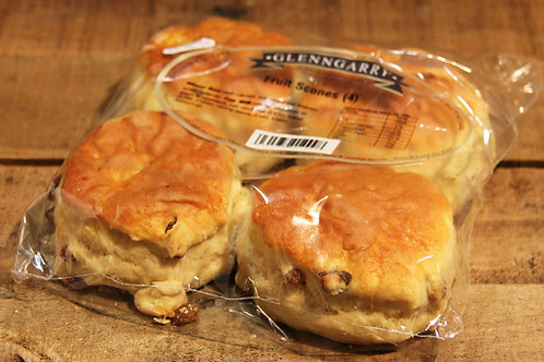 Glengarry Fruit Scones x 4