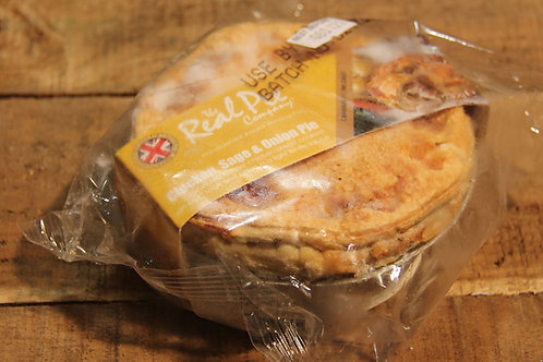Real Pie Co. Chicken, Sage & Onion Pie (small)