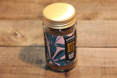 Littles Brazilian De-caff Instant Coffee 500g