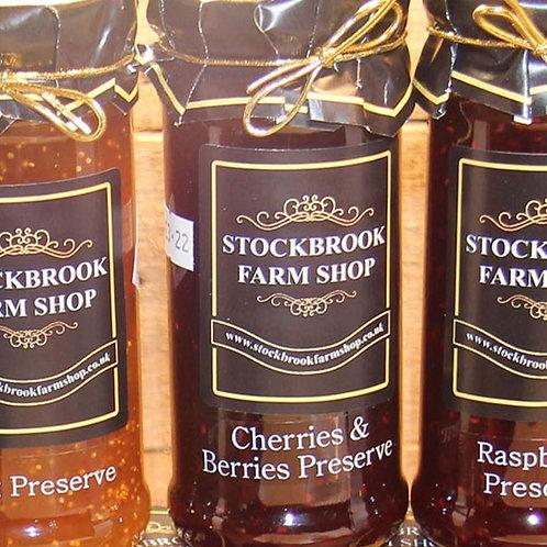 Stockbrook Farm Shop Cherries & Berries 340g