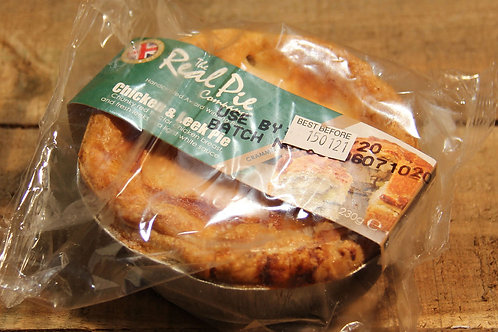 Real Pie Co. Chicken and Leek Pie (small)