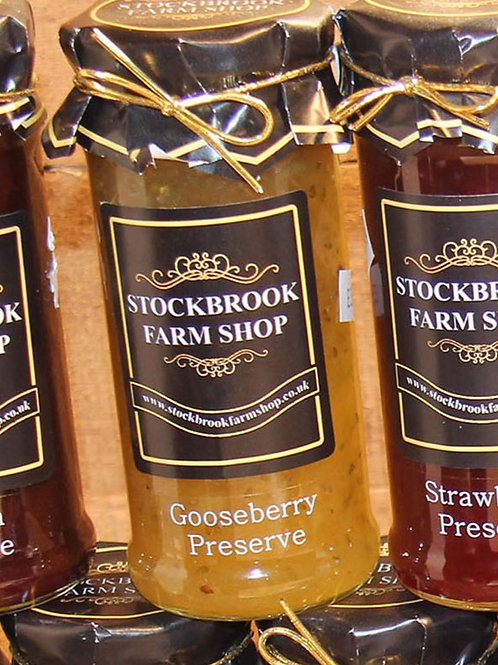 Stockbrook Farm Shop Gooseberry Jam 340g