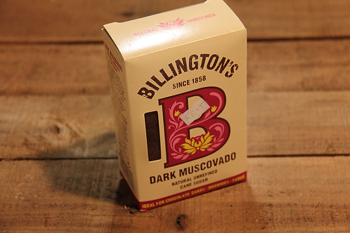 Billingtons Dark Muscovado Cane Sugar 500g