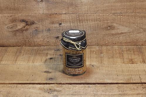 Stockbrook Farm Beer & Black peppercorn Mustard 175g