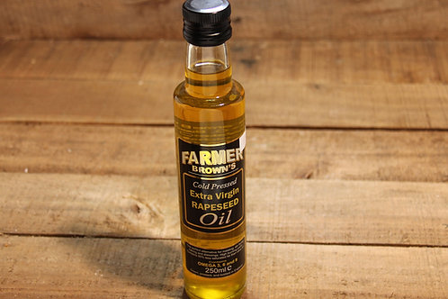 Farmer Browns Extra Virgen Rapeseed Oil 250ml