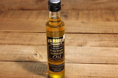 Farmer Browns ExtraVirgin Rapeseed Oil 250ml