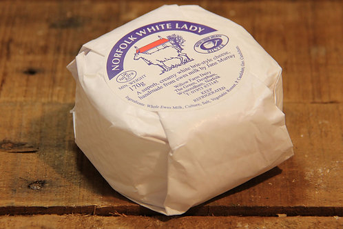 Norfolk White Lady Cheese 170g