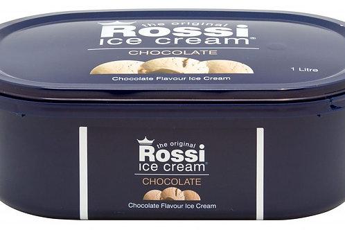 Rossi Ice Cream - Chocolate (1 Litre)