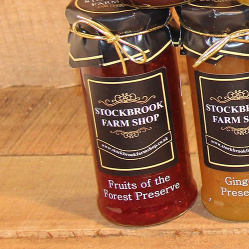 Stockbrook Farm Shop Fruits of the Forest Jam 340g
