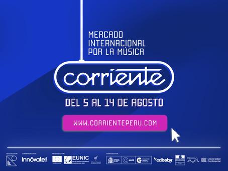 CORRIENTE I MERCADO INTERNACIONAL POR LA MÚSICA 3era Edición