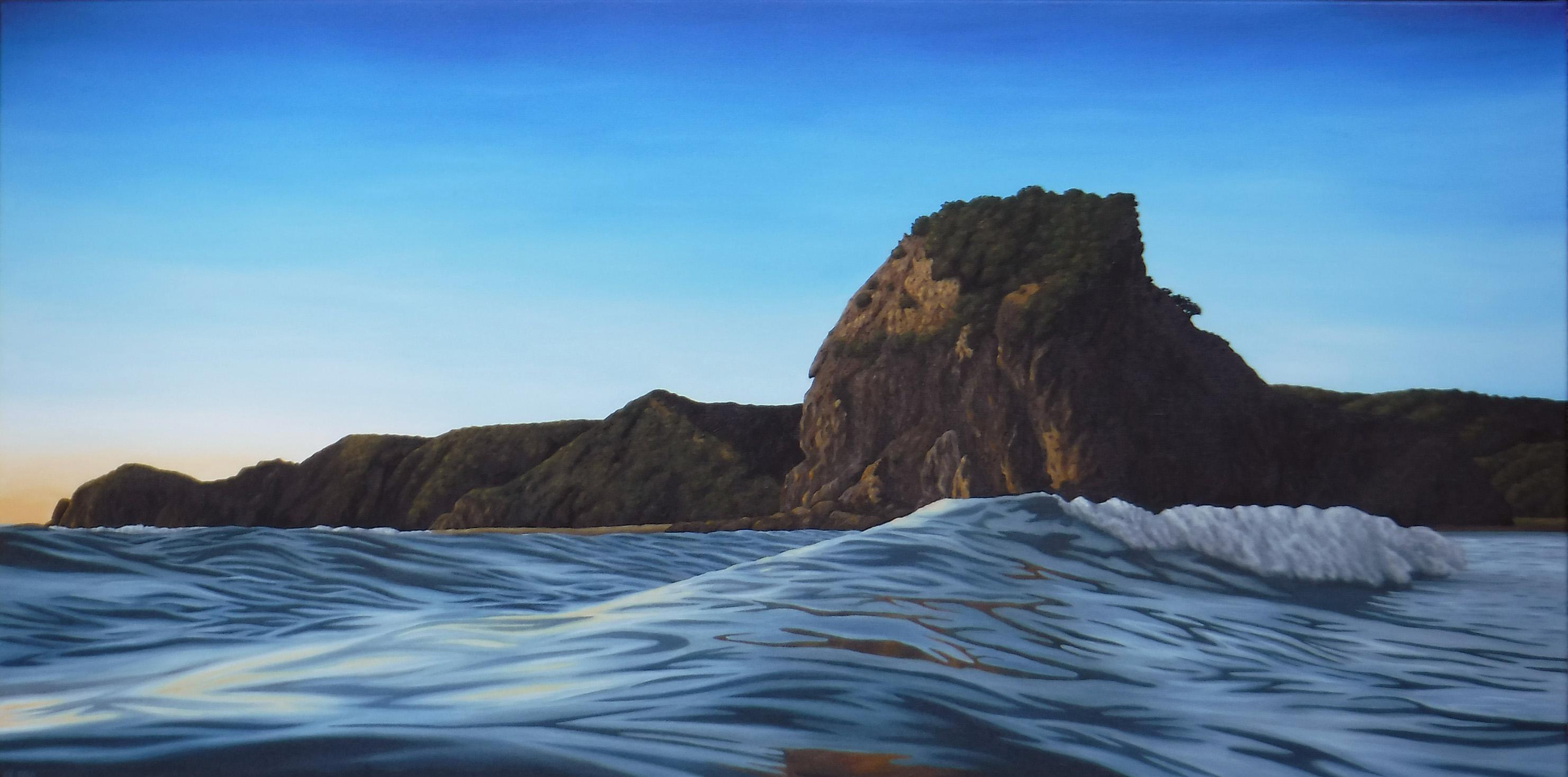 Lion Rock, full tide