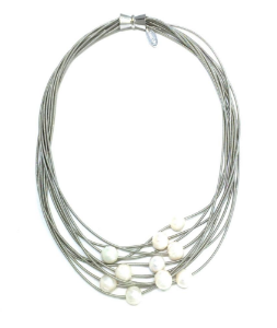 Louise Necklace - Silver