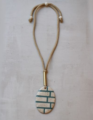 Lucia Teal Necklace
