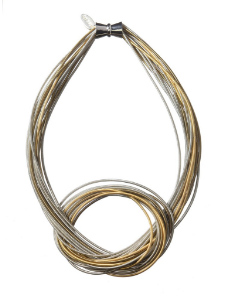 Laura Necklace -Silver and Gold